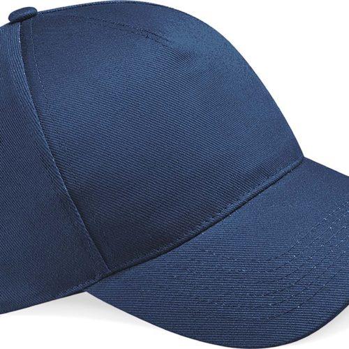 casquette brodée bleu navy
