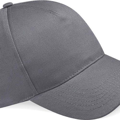 casquette brodée grise